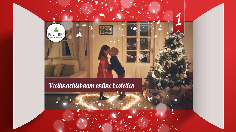 Türchen 1: Meine Tanne - Weihnachtsbaum online bestellen