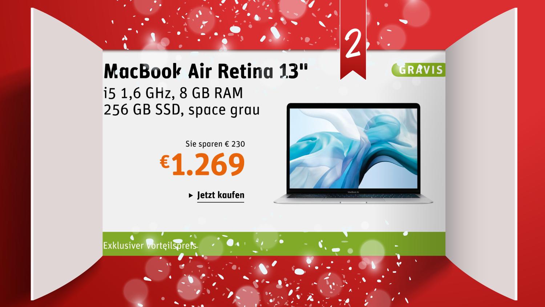 Türchen 2: Apple MacBook Air Retina 13