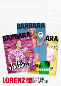 Bestens unterhalten mit BARBARA im Abo!