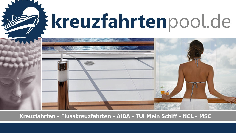 kreuzfahrtenpool.de - Gehen Sie an Bord - 4% Rückvergütung