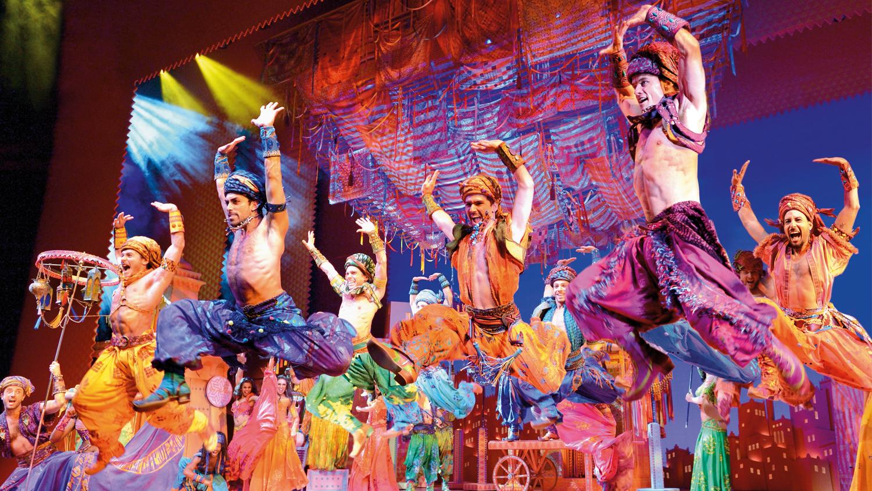 Disneys ALADDIN Musical mit Premium Hotel in Stuttgart