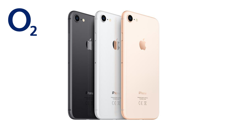 Apple iPhone 8 - o2 Free 10GB Daten und LTE Max für nur 29,99€/Monat